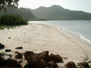 Big Sand Beach Union Island, St Vincent And The Grenadines