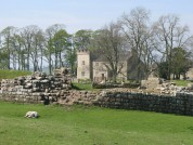 Birdoswald The Southeast Angle Tower And Lamb