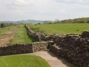 Hadrians Wall At Birdoswald