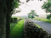 Hadrians Wall Near Birdoswald Roman Fort