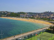 Ondarreta Beach, San Sebastian, Spain