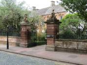 Tullie House, Carlisle, Gates And Railings