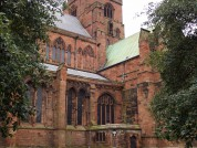 Outside Of Carlisle Cathedral