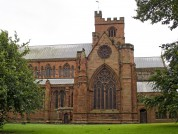 Outside Of Cathedral In Carlisle