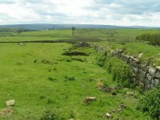 Aesica (Great Chesters) Roman Fort. Remains of a Roman Fort on Hadrian's Wall