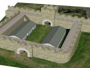 Hadrians Wall Mile Castle