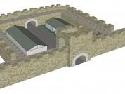 Hadrians Wall Mile Castle Top Elevation 2