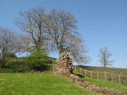 Hadrian's Wall At Hare Hill