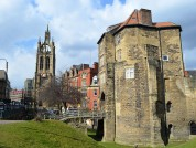 Newcastle Cathedral And Black Gate