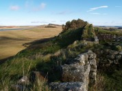 View From Hadrians Wall From Milecastle 37