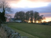 Leahill Farm And A Fosse Of Hadrians Wall, Near Pike Hill