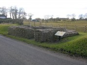 Leahill Turret 51B, Looking East. Hadrians Wall