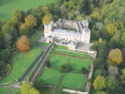 Naworth Castle From The Air