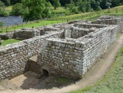 The Baths Located Outside The Fort Considered As The Best Preserved Roman Military Building In Britain Chesters Roman Fort