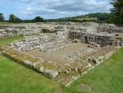 The Commanding Officers House (praetorium), AD 150 400, Chesters Roman Fort (Cilurnum), Hadrians Wall